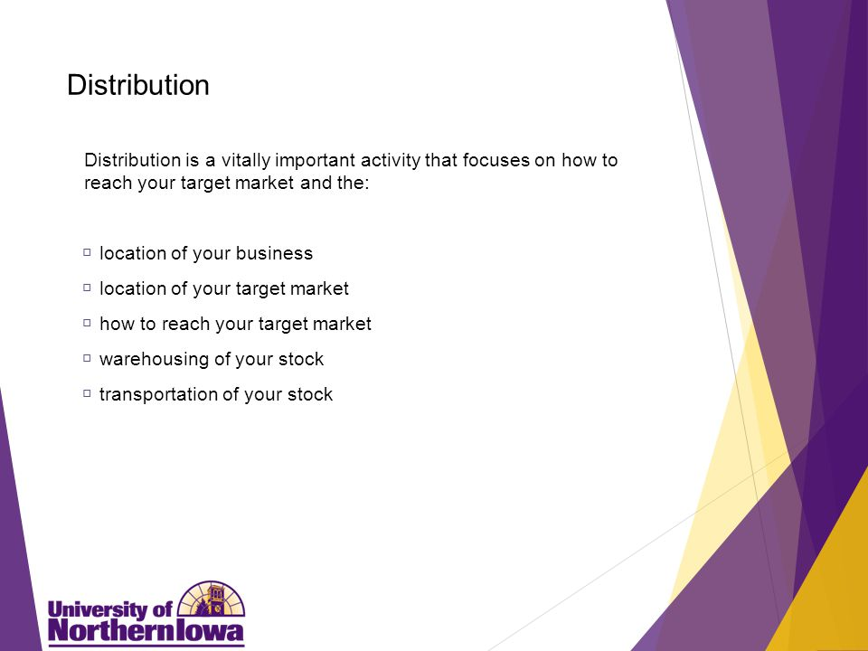 Two Types of Distribution Strategies/Channels of Distribution