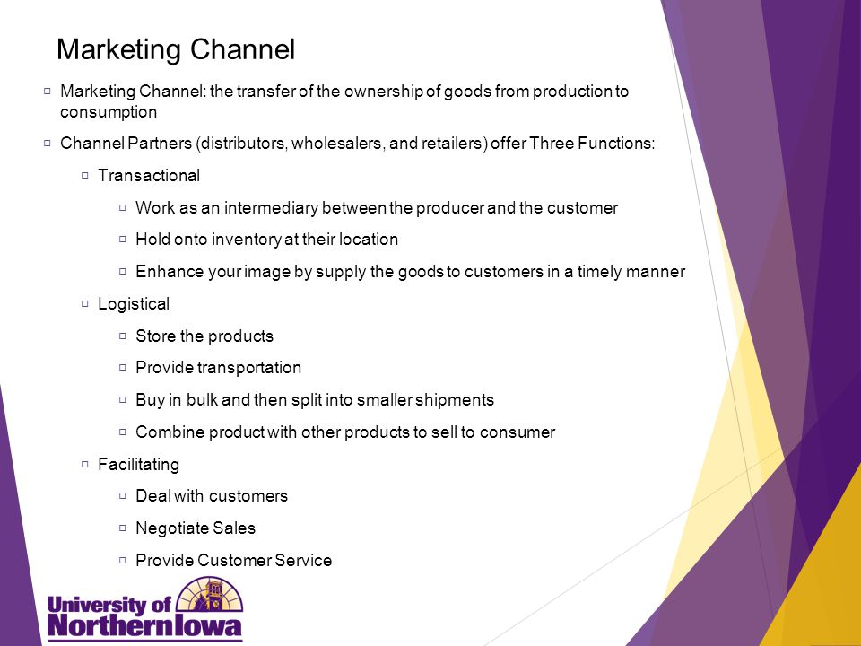 Consumer Product Channels