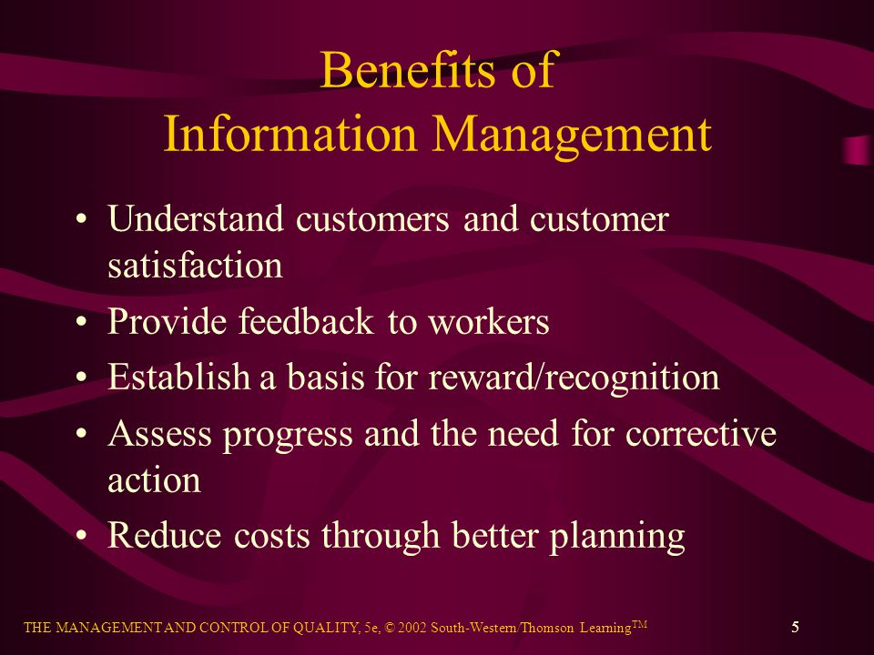 performance measurement information management Performance measurement can be best understood through considering the definitions of the words 'performance' and 'measurement' according to the baldrige criteria: performance refers to output results and their outcomes obtained from processes, products, and services that permit evaluation and comparison relative to goals, standards, past results, and other organisations performance.