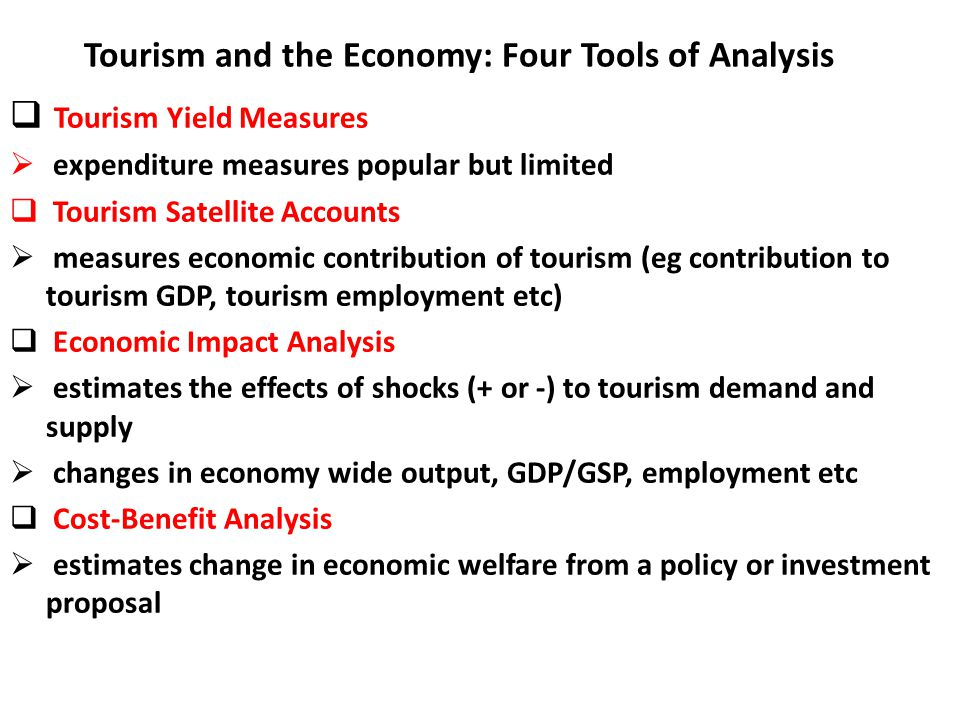 effects of tourism on employment in