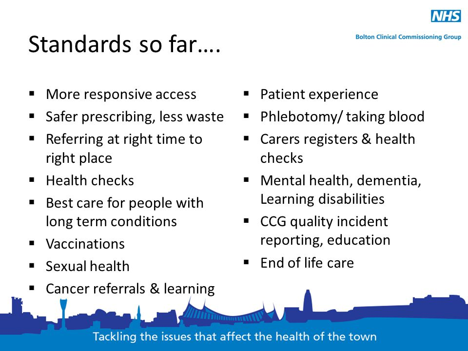 Standards so far…. More responsive access