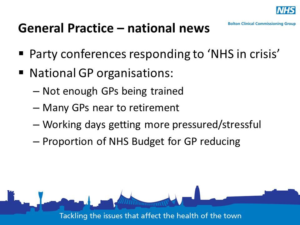 General Practice – national news