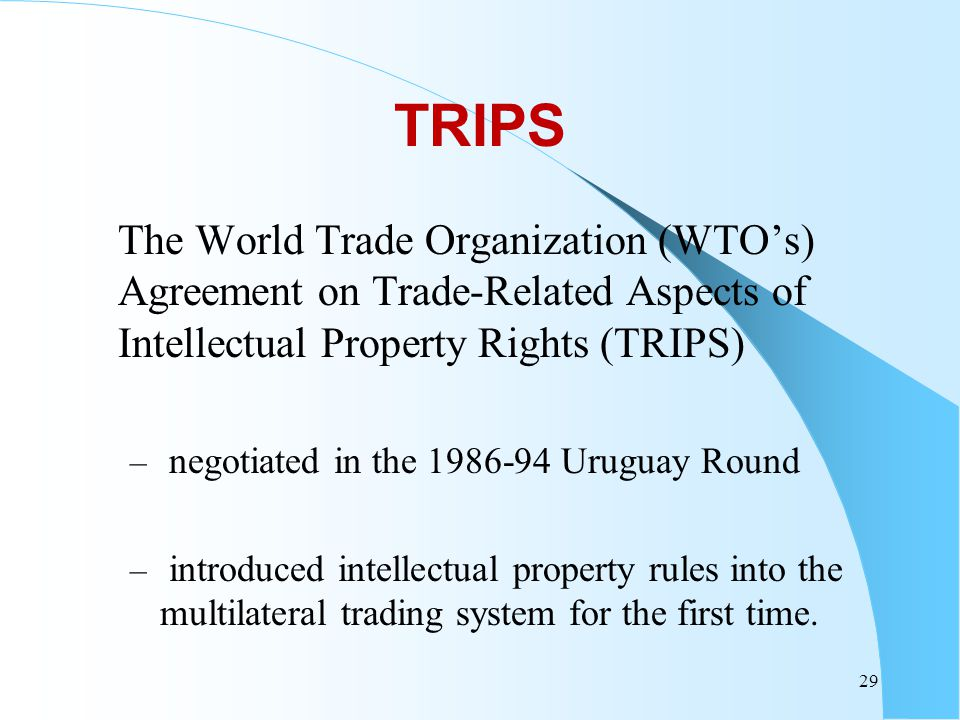 Multilateral trading system and wto