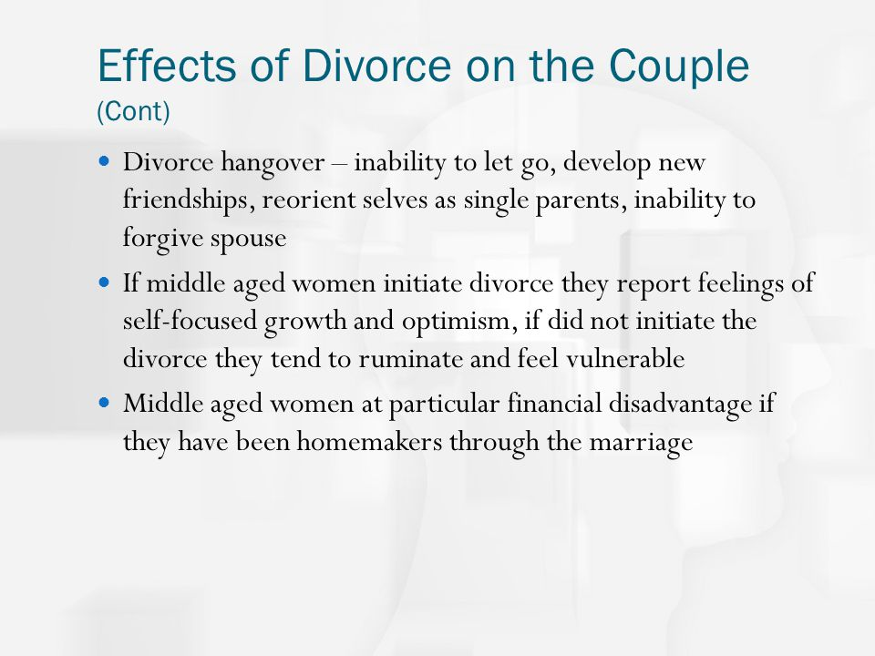 Effects of Parental Divorce on Marital Commitment and Confidence
