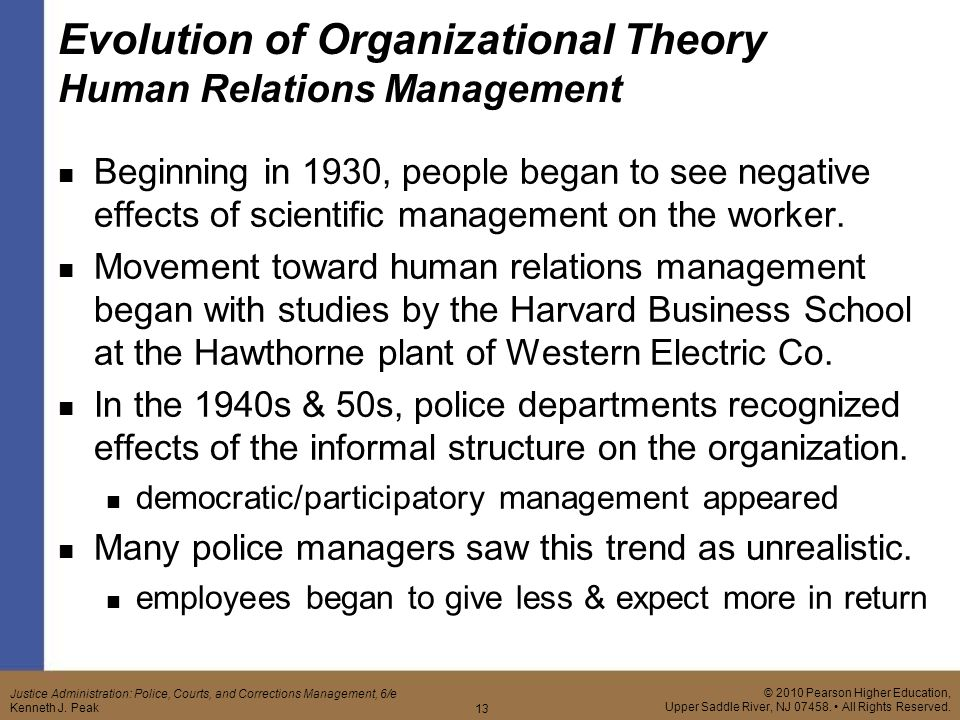 scientific management and human relations