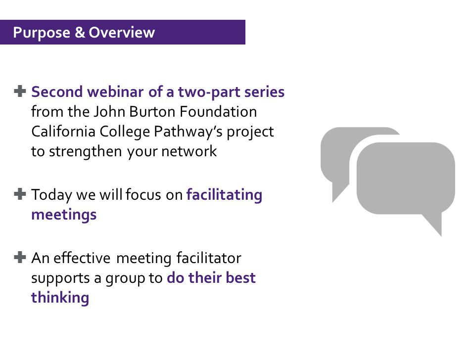 Building Your Facilitation Skills Driving Meetings  Ppt Video