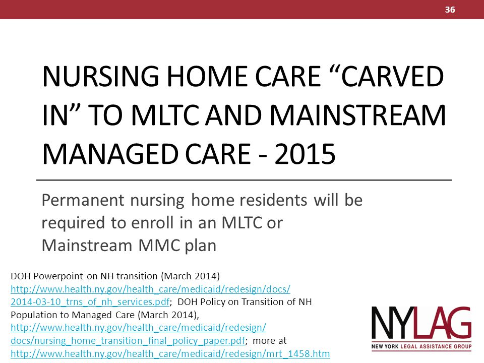 Managed Long Term Care and FIDA – Status in November ppt download
