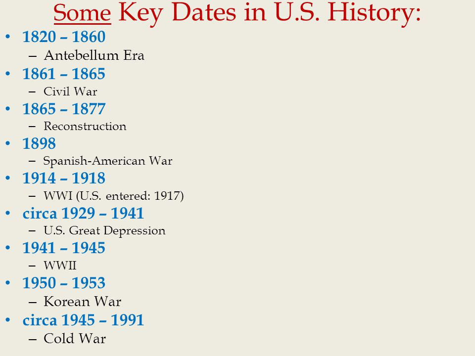 Dating history in america
