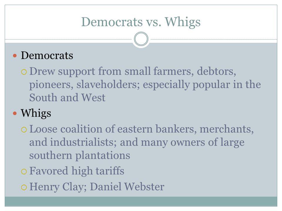 democrats vs whigs essay