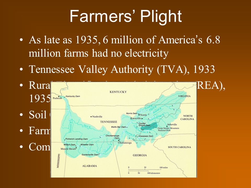 The great depression new deal ppt download for Soil conservation act