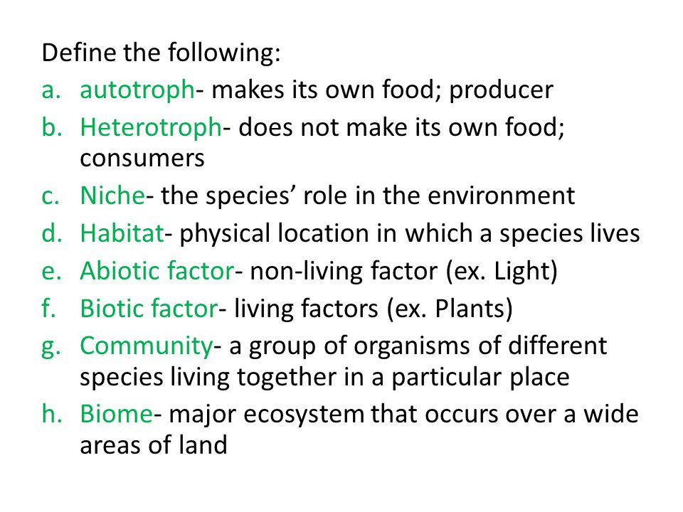 an overview of ecology the study of plants animals and the environment Ecology - the study of interactions among organisms with each other and with environment   and particular species of plants and animals that live there (tundra) .