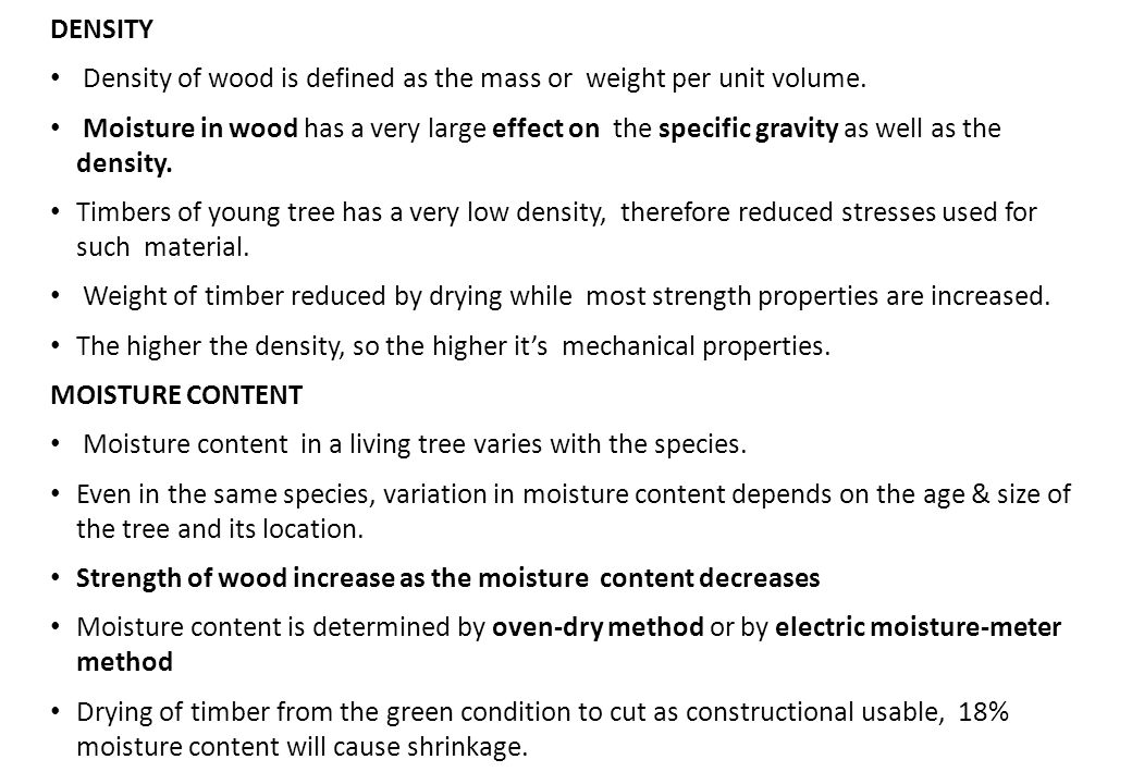 Timber as a building material ppt video online download