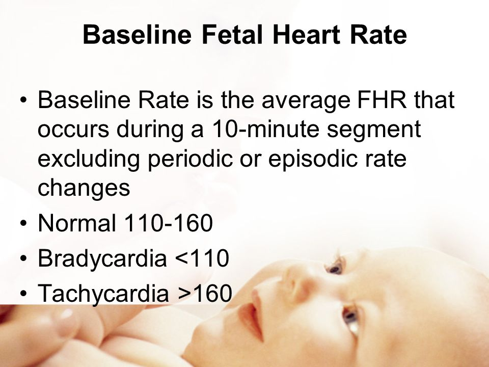 Baseline Fetal Heart Rate