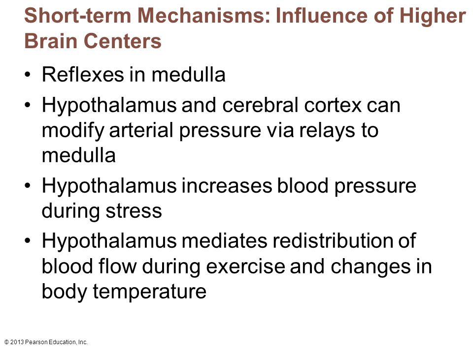 Short term stress hormone