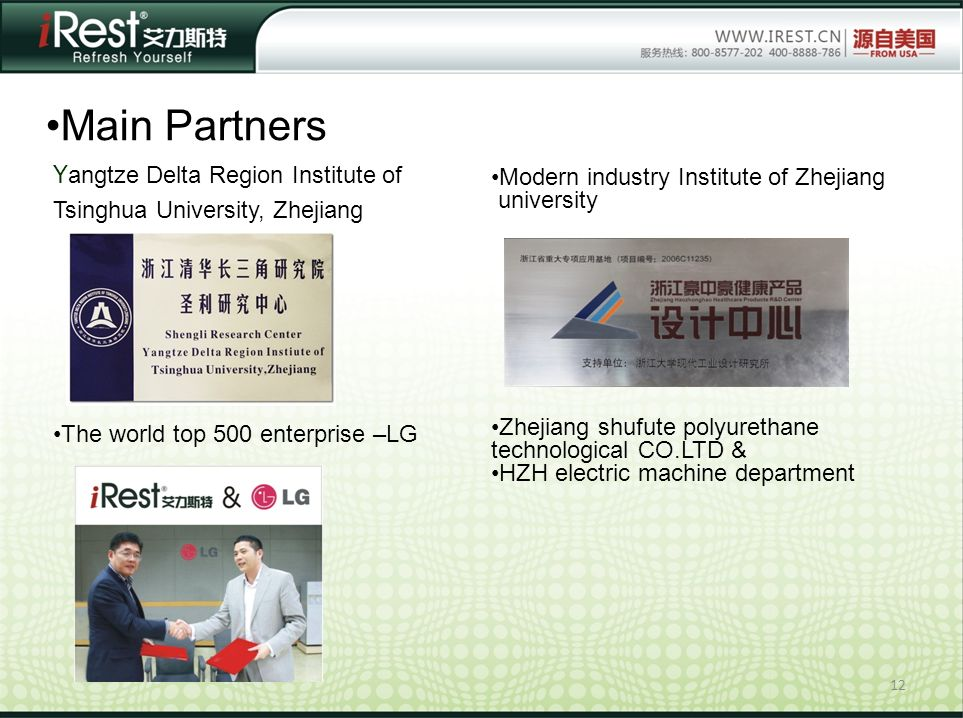 Main Partners Yangtze Delta Region Institute of