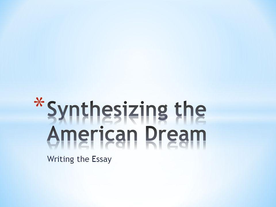 the american dream compare and contrast