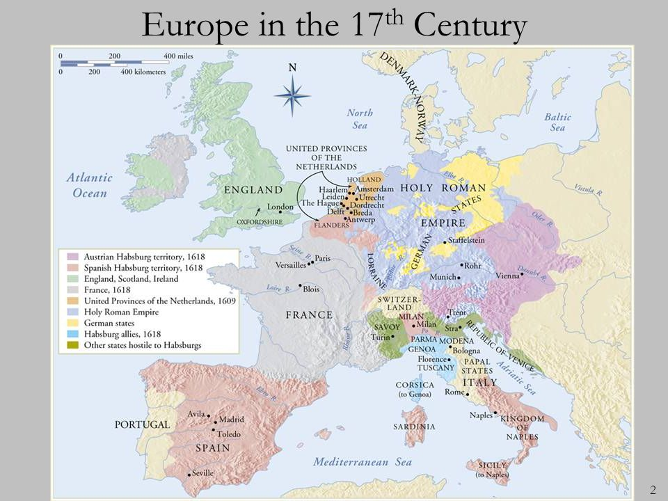 Europe in the 17th Century