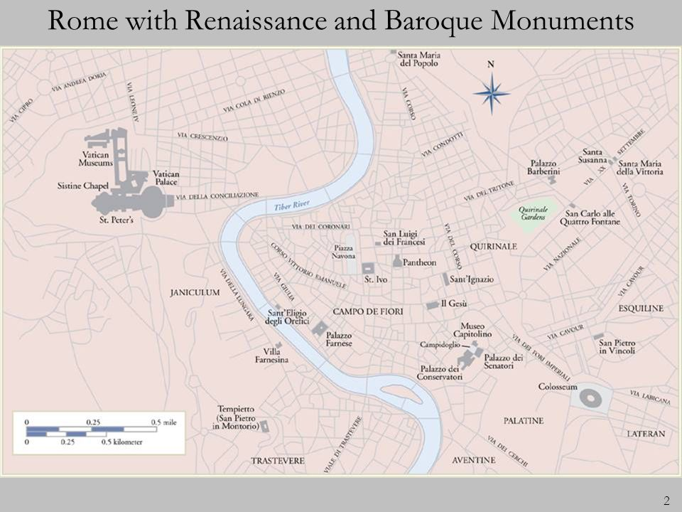 Rome with Renaissance and Baroque Monuments