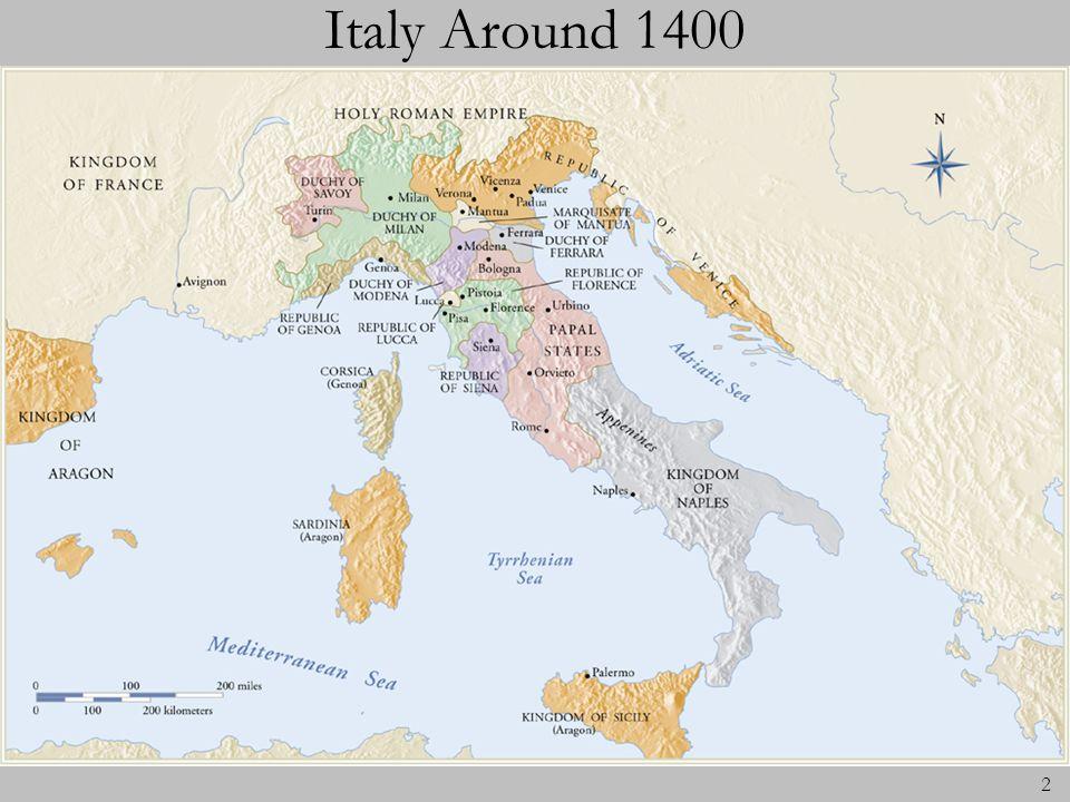 Italy Around 1400