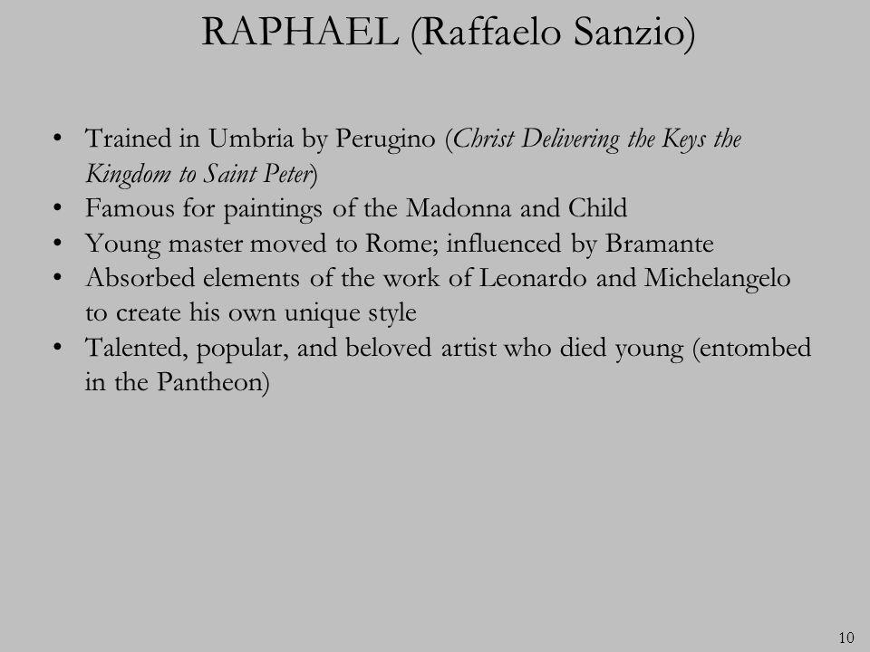 RAPHAEL (Raffaelo Sanzio)