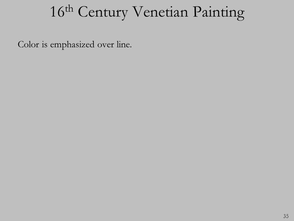16th Century Venetian Painting