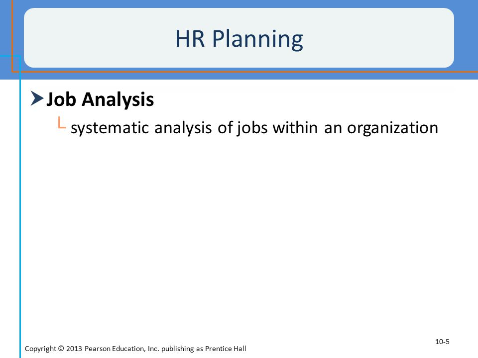 Job Analysis Homepage from HR-Guide