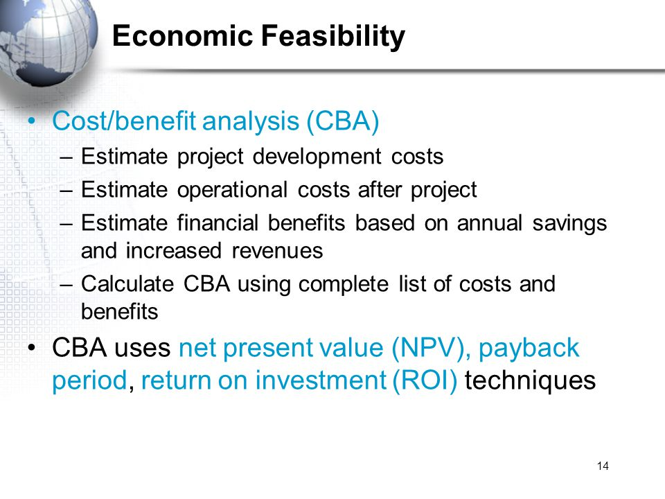 Economic Development Project Evaluation