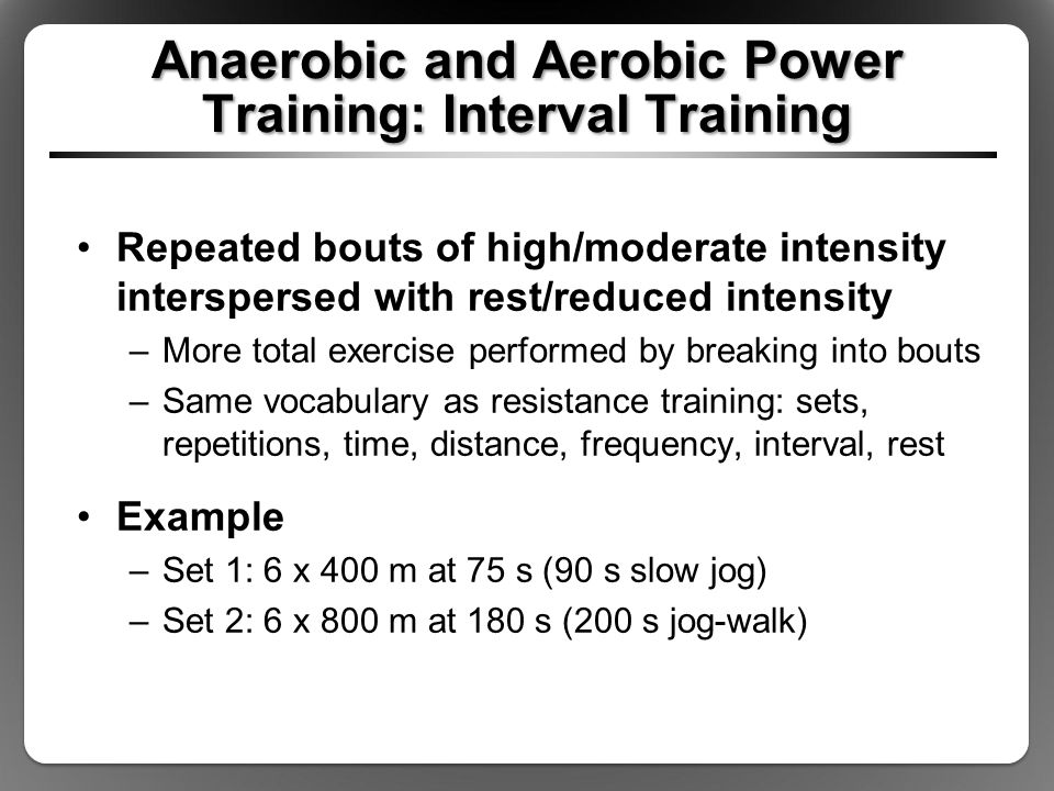 aerobic anaerobic exercises essay Aerobic exercise and fitness can be contrasted with anaerobic exercise, of which strength training and short-distance running are the most salient examples the two types of exercise differ by the duration and intensity of muscular contractions involved, as well as by how energy is generated within the muscle.
