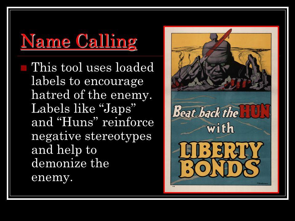 Name Calling: Analyzing World War I Propaganda Posters