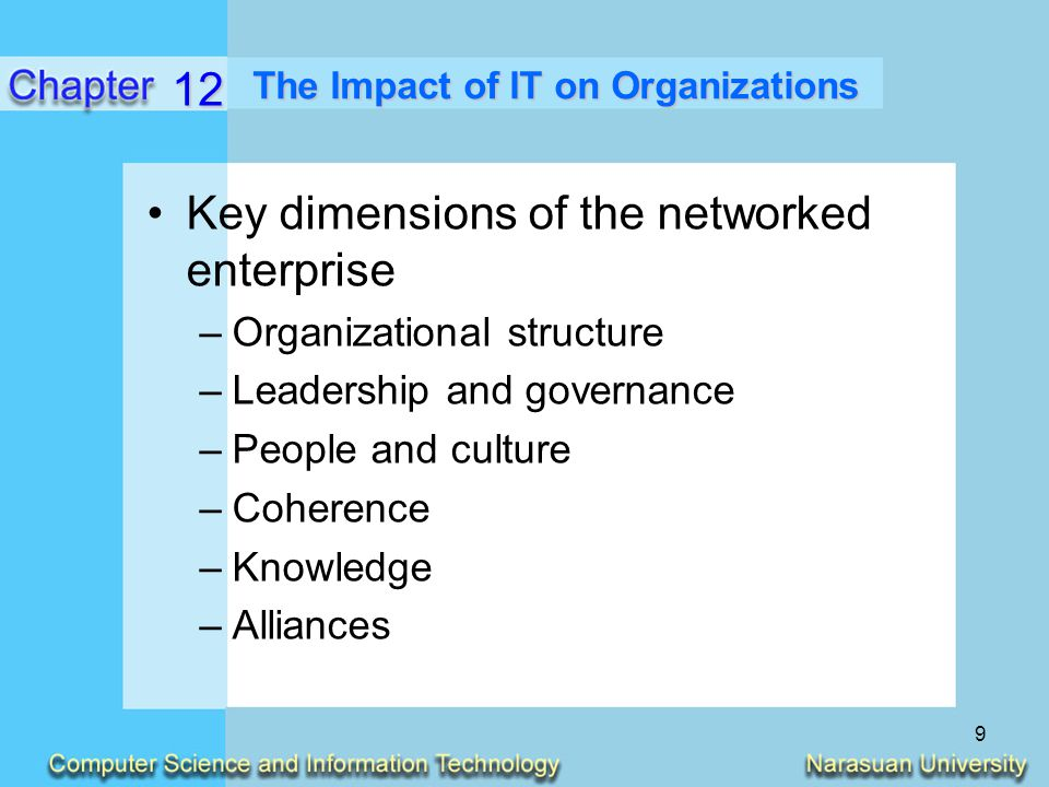 impact information technology organizations The impact of information technology on the organization of economic activity: the move to the middle hypothesis.