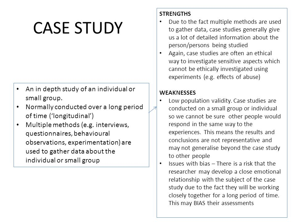 individual case study Case report definition an article that describes and interprets an individual case, often written in the form of a detailed story case reports often describe.