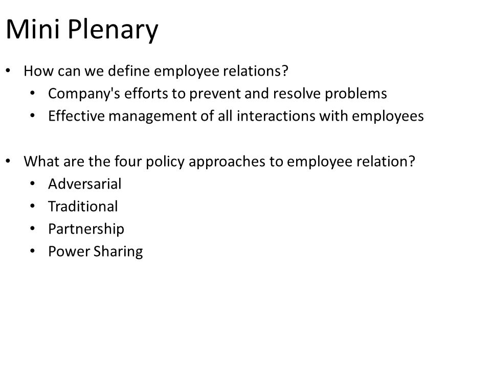 definition of employee relation management essay Employee engagement  and its management these working papers would be available online at  which requires a two-way relationship between employer and employee.