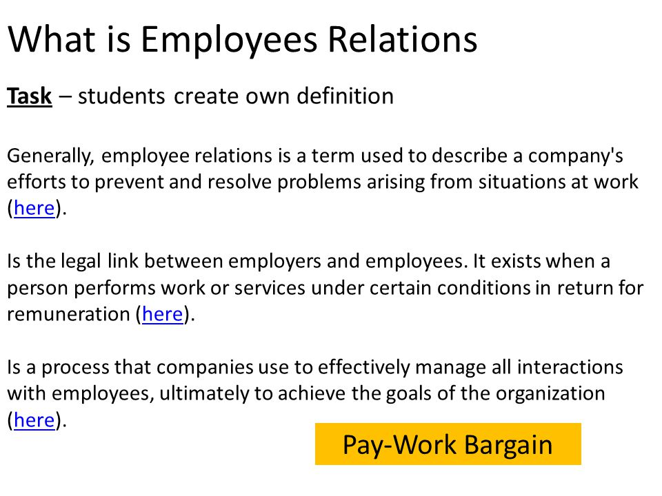 employer and employee relationship pdf