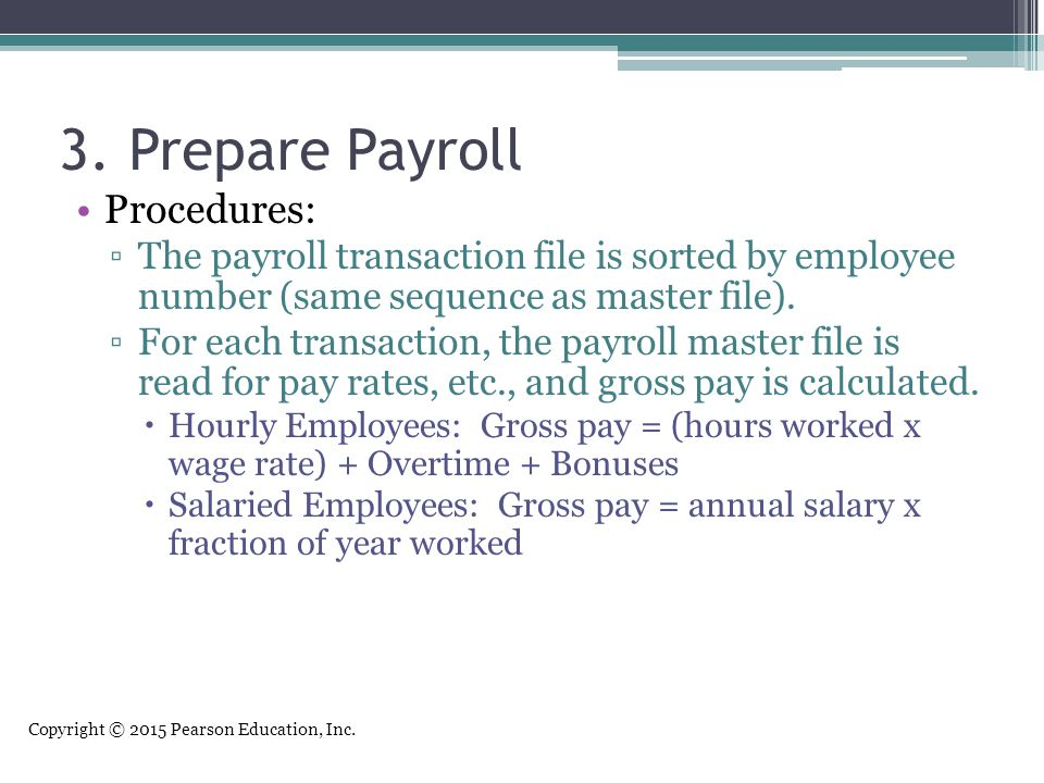 The Human Resources Management and Payroll Cycle - ppt download