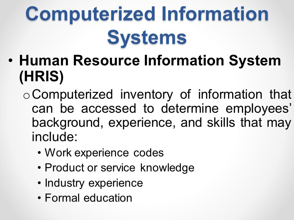 computerized information system essay The study of people, technology, and organizations management information systems (mis) is the study of people, technology, and organizations if you enjoy technology like iphones, ipods, and facebook, you have what it takes to major in information systems.