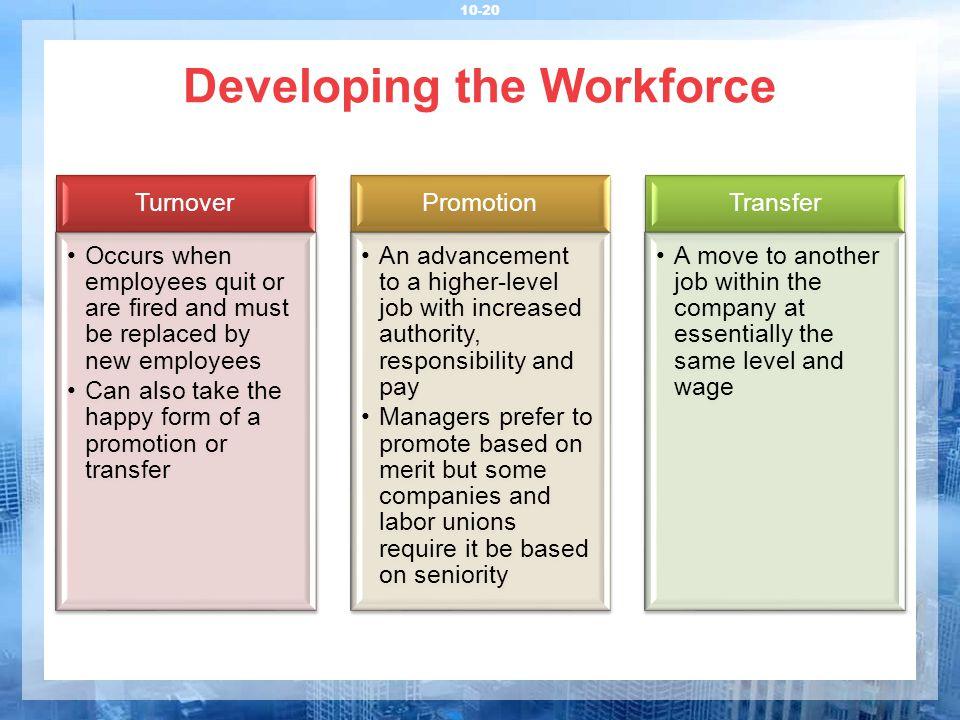 transfer job within same company