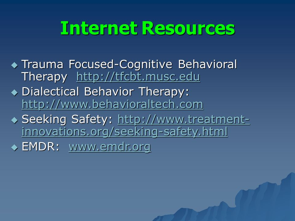 trauma focused cognitive behavioral therapy pdf