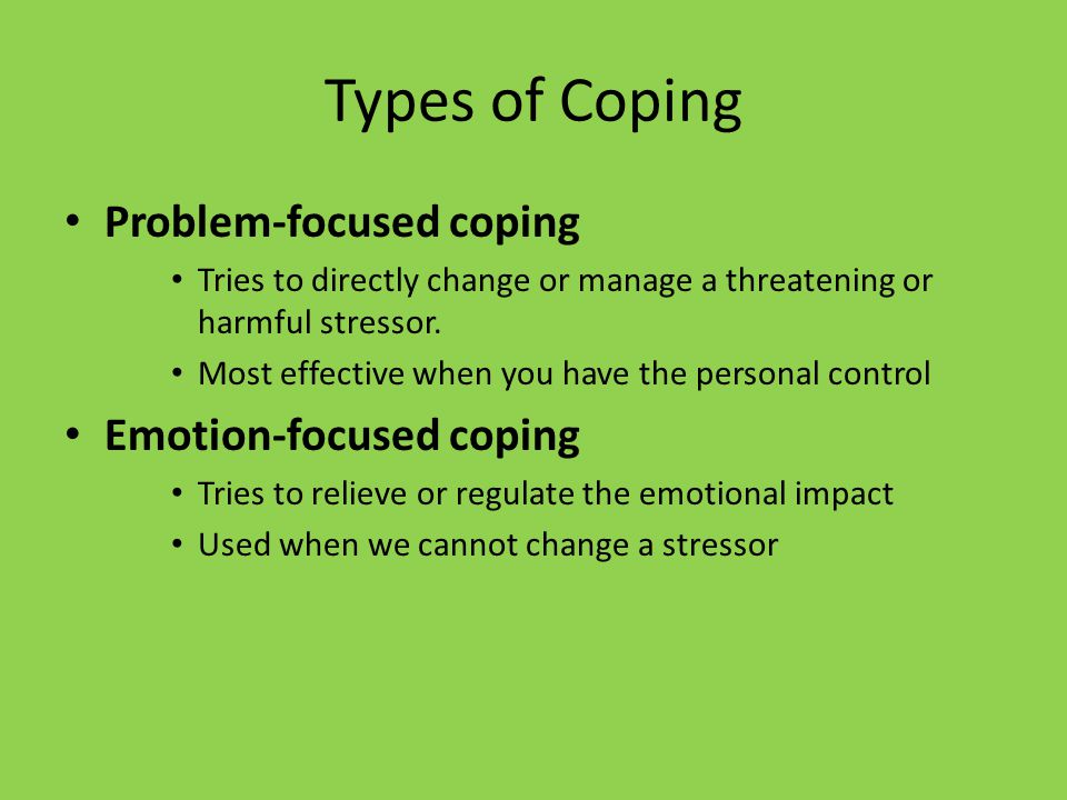 coping strategies on psychological effect of The dysfunctional coping response to stress can have negative and adverse effects on children's and assessment of coping strategies and psychological adjustment in children 69 issn 2029-8587 problems of psychology in the 21st century volume 3, 2012.