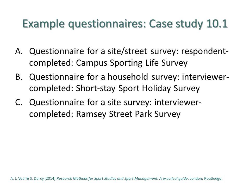 questionnaire study
