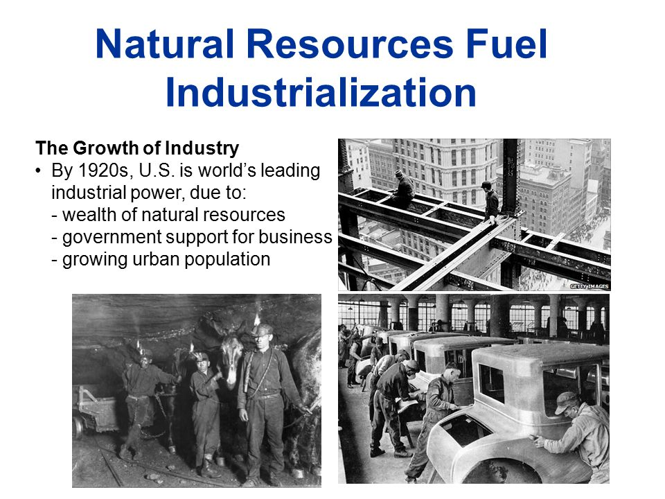 industrialization and competition for resources which led to the first world war Although world war i began in europe, it is important to take a look at world war i in relation to us history as well the us was greatly affected by the war.