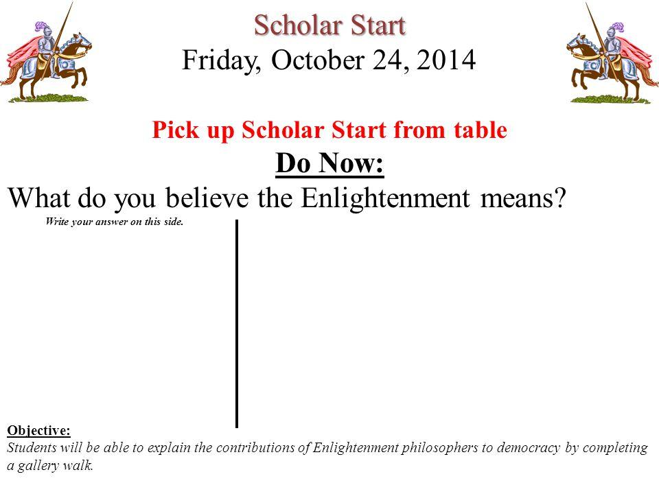 Scholar Start Friday October 24 Ppt Video Online Download