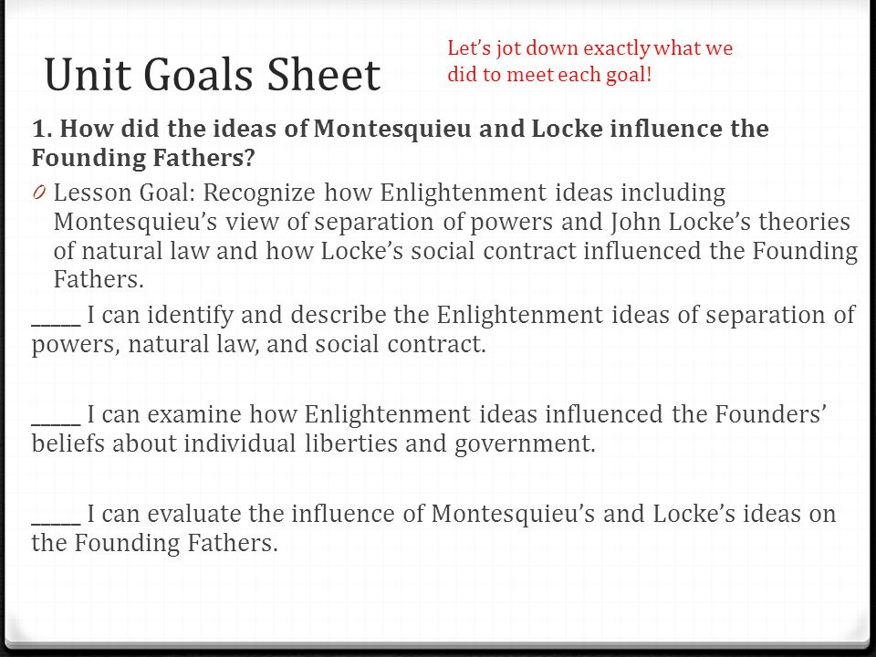 how were the founding fathers influenced by john locke The influence of john locke's works  in the late eighteenth and nineteenth centuries locke's views were largely rejected and his influence was at its lowest .