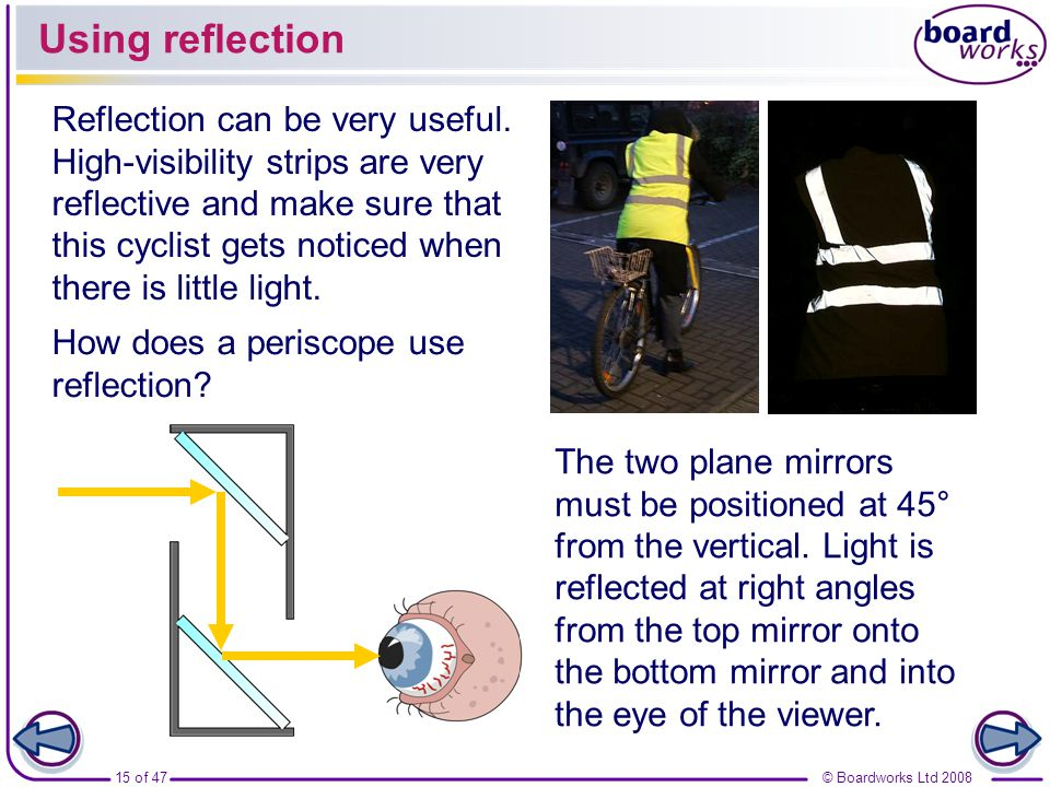 Using reflection Reflection can be very useful.