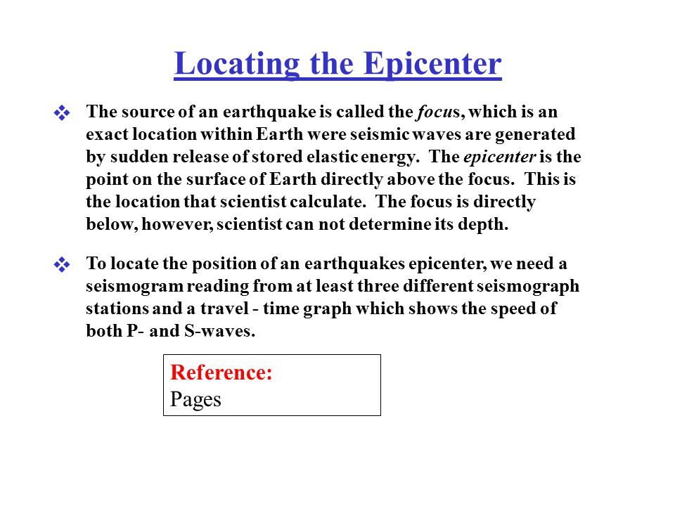 Locating The Epicenter Ppt Video Online Download. 1 Locating The Epicenter. Worksheet. Seismogram Worksheet At Clickcart.co