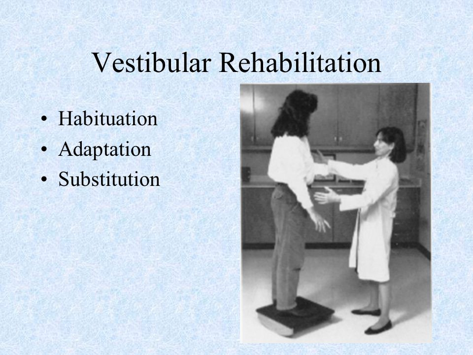 Rehabilitation for Balance Disorders - ppt video online ...