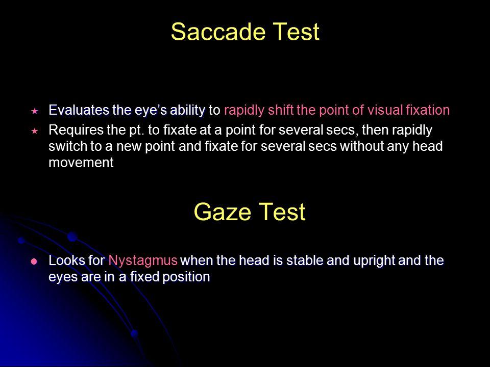 Introduction To Vestibular Assessment