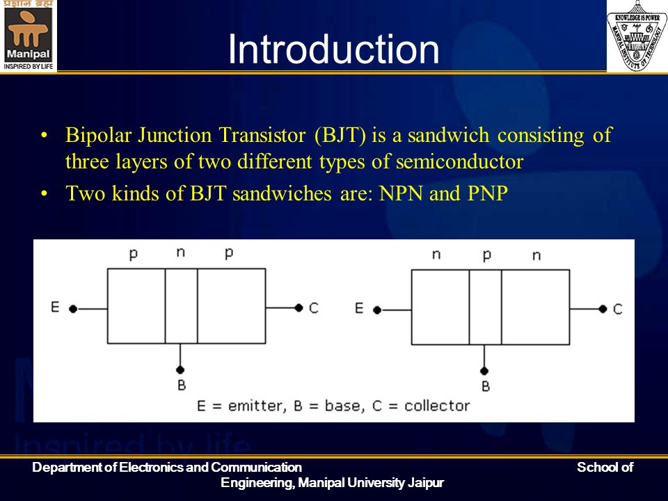 Introduction to Bipolar Junction Transistor (BJT)