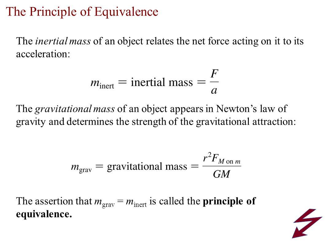 The Principle of Equivalence