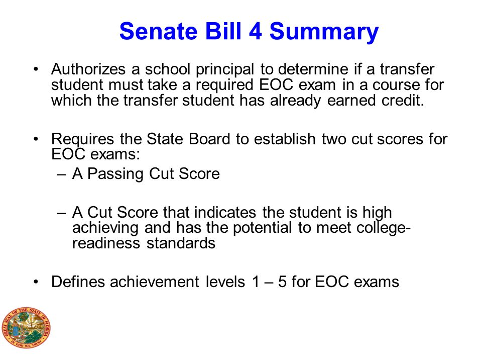 Senate Bill 4 Summary