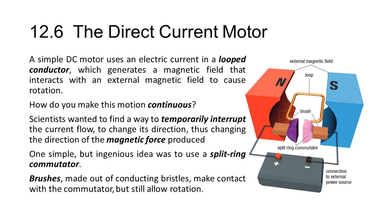 12 5 The Motor Principle When English Physicist Michael